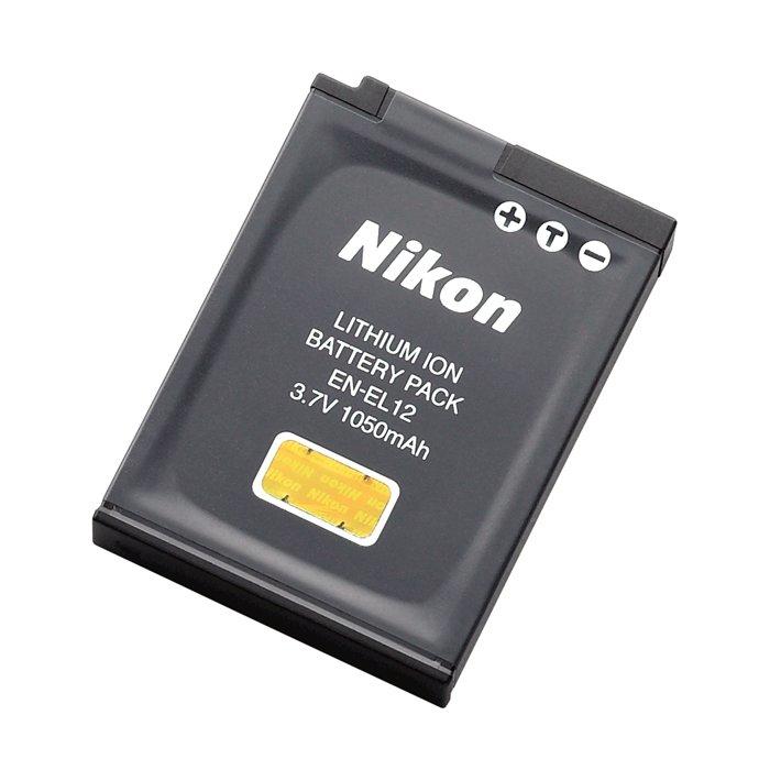 NIKON EN-EL12 LITHIUM-ION (LI-ION) 1050 MAH