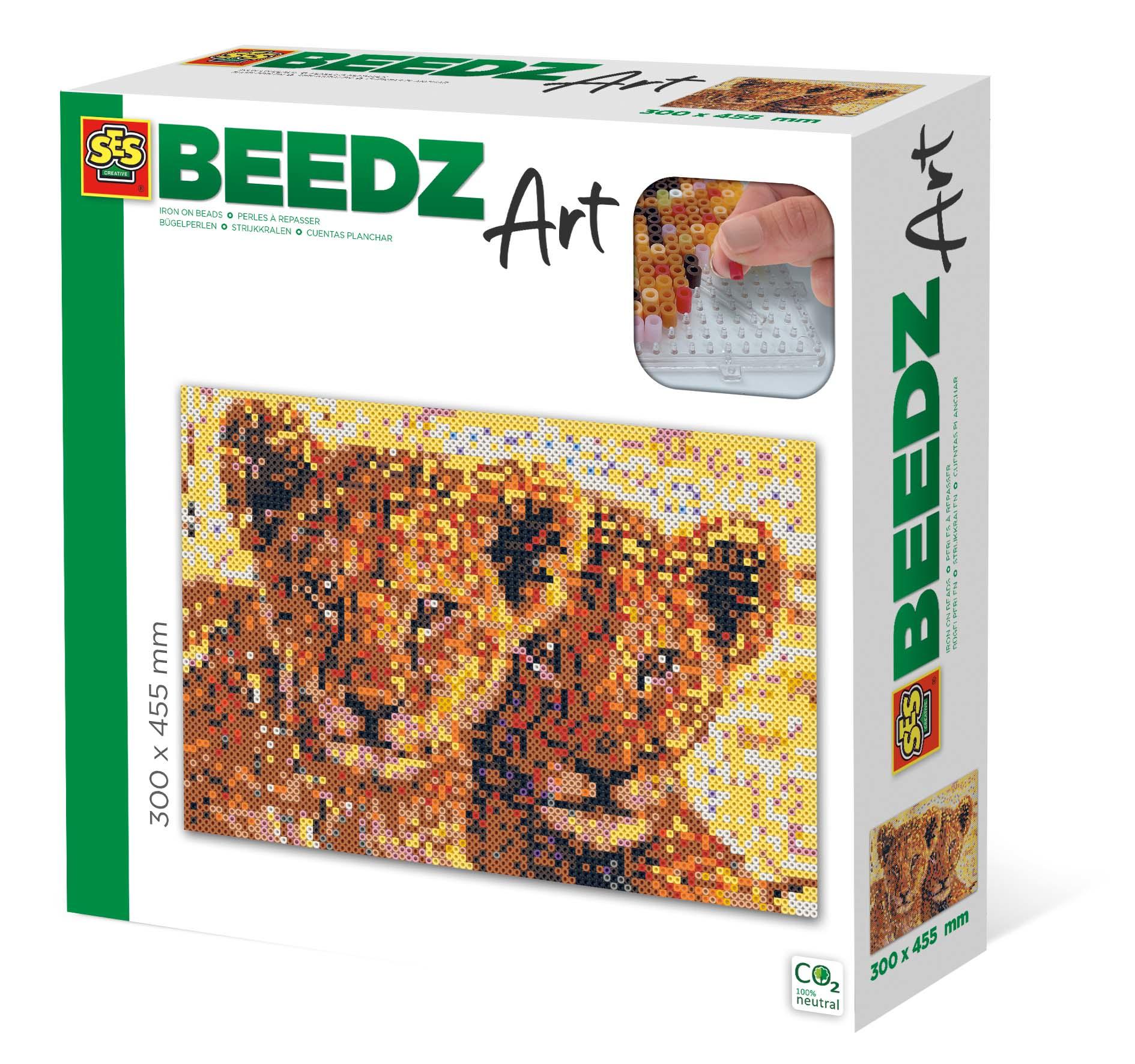 SES Creative Beedz art - Lion cubs