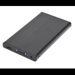 "Sabrent 2.5"" USB 2.0/E-SATA 2.5"" Black USB powered"