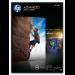 HP Q5456A papel fotográfico Negro, Azul, Blanco Brillo A4