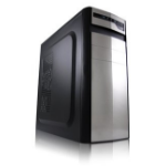 LC-Power 7017S Midi-Tower Black,Silver