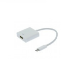 Unirise USBC-HDMIF-ADPT 4096 x 2160pixels White USB graphics adapter