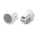 Audica MICROdot 25 W White Wired