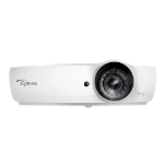 Optoma W460ST data projector 4200 ANSI lumens DLP WXGA (1280x800) 3D Portable projector White