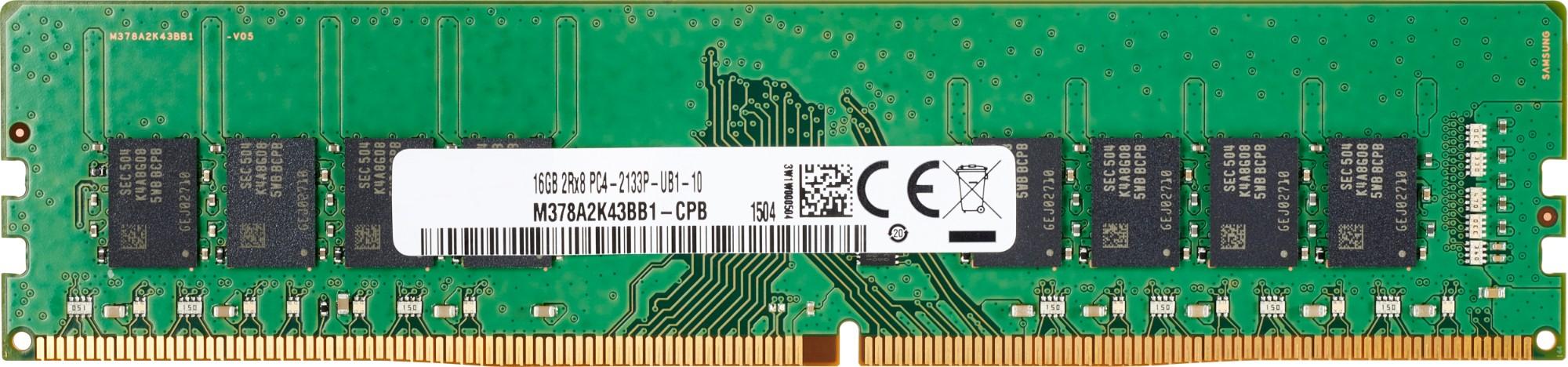 HP 3TQ40AA memory module 16 GB DDR4 2666 MHz ECC