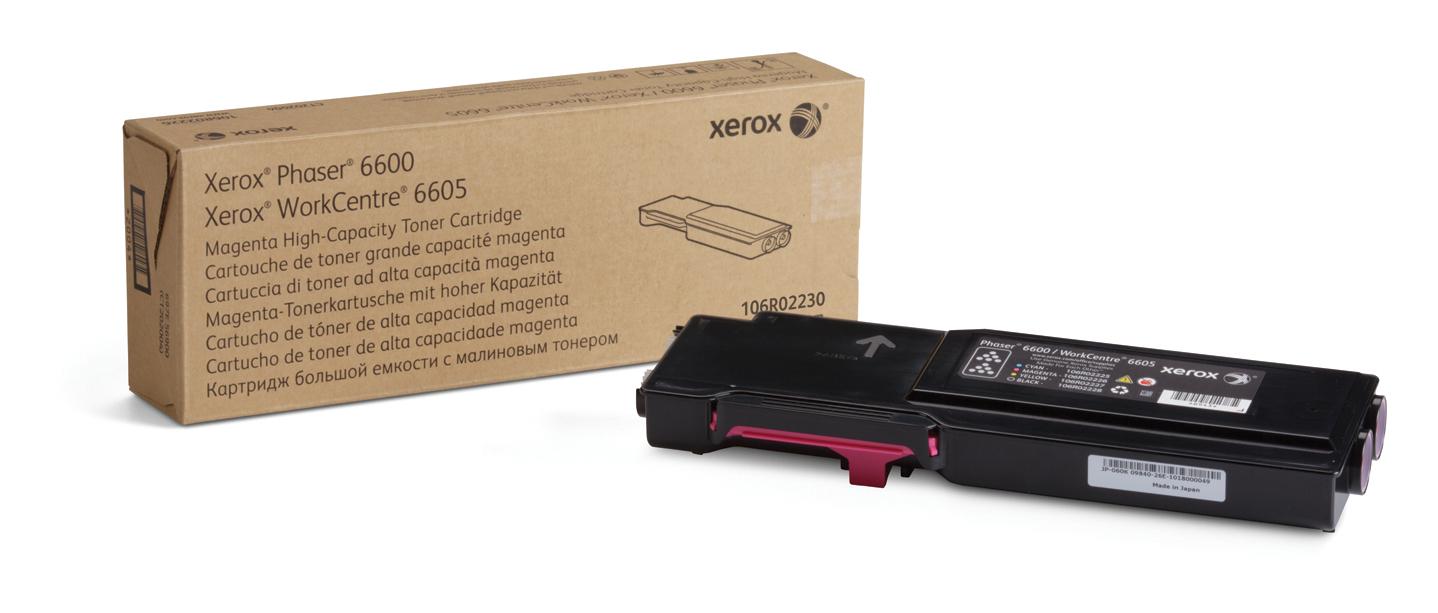 Xerox Phaser 6600/Workcentre 6605 Cartucho De Tóner Magenta De Gran Capacidad (6000 Páginas)