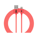 Juice JUI-CABLE-LIGHT-2M-RND-CRL lightning cable Coral JUICABLELIGHT2MRNDCRL