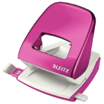 Leitz NeXXt WOW hole punch 30 sheets Pink, White