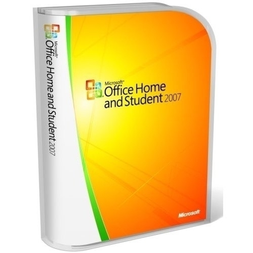 Microsoft Office Home & Student 2007 V2, Win, 3pk, Media Less Kit, EN