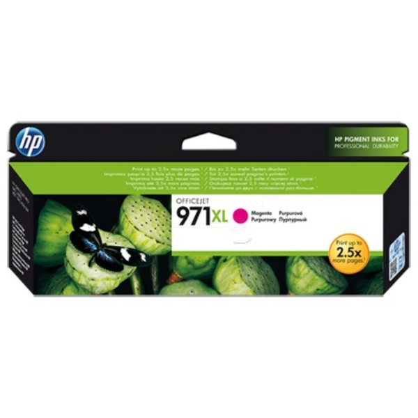 HP CN627AE (971XL) Ink cartridge magenta, 6.6K pages, 81ml