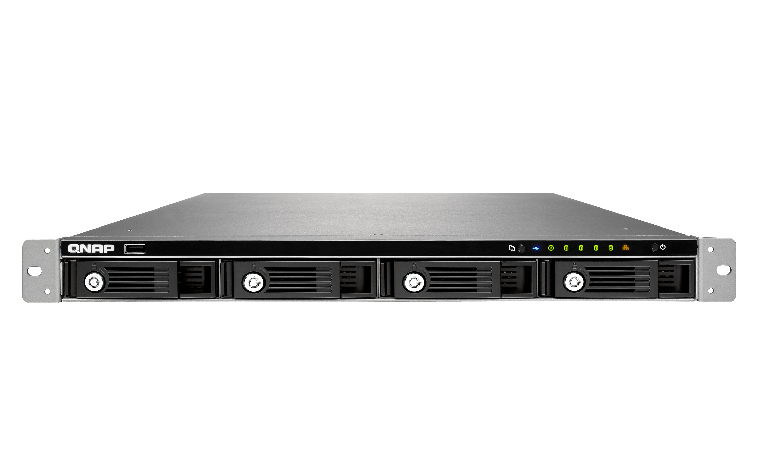 QNAP TS-453U NAS Rack (1U) Ethernet LAN Black storage server