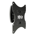 "Tripp Lite Swivel/Tilt Wall Mount for 17"" to 42"" TVs and Monitors, 80° Swivel, -15° to +15° Tilt, -4° to +4° Screen Adjustment"