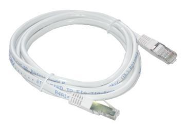 MCL FCC5EBM-3M/W cable de red Blanco