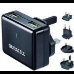 Duracell DR6001A Binnen Zwart oplader voor mobiele apparatuur