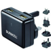 Duracell DR6001A Indoor Black mobile device charger