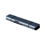 Dynamode C-TC-CR card reader USB 3.2 Gen 1 (3.1 Gen 1) Type-C Aluminium