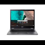 "Acer Chromebook CP713-1WN-55HT Grey 13.5"" 2256 x 1504 pixels Touchscreen 1.60 GHz 8th gen Intel® Core™ i5 i5-8250U"