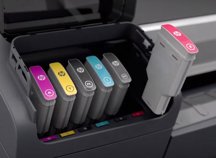 HP F9J97A (745) Ink cartridge cyan, 130ml