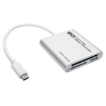 Tripp Lite U452-003 smart card reader USB 3.2 Gen 1 (3.1 Gen 1) White