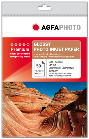 Photo Paper Inkjet A4 210gr (50 Sheets) Classic Design