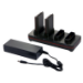 Honeywell CX80-QBC-UV-0 Cargador de baterías para interior Negro cargador de batería