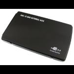 "Cables Direct 2.5'' IDE Hard Drive Enclosure 2.5"" Black"