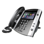 Polycom VVX 600 DECT telephone Black,White