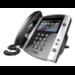 Polycom VVX 600 DECT telephone Black,White