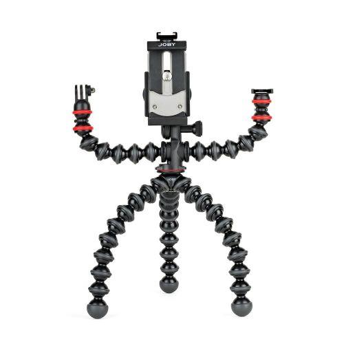 Joby JB01524-BWW tripod Mobile phone 3 leg(s) Black, Gray