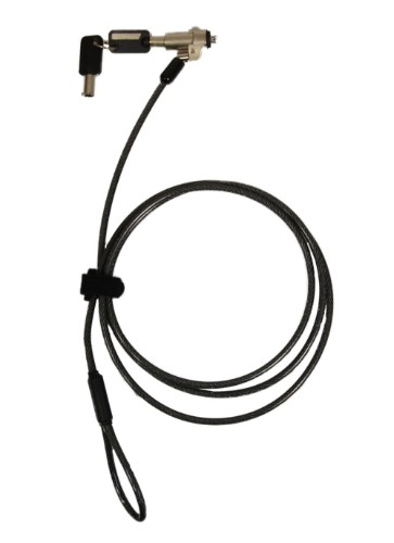 Port Designs 901211 cable lock Black, Brass