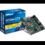 Asrock H110M-STX Intel H110 LGA1151 motherboard