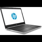 """HP 14-dg0023na Silver Notebook 35.6 cm (14"""") 1366 x 768 pixels Intel® Celeron® N4000 4 GB DDR4-SDRAM 64 GB eMMC"""