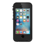 LifeProof 77-53685 Cover Black mobile phone case