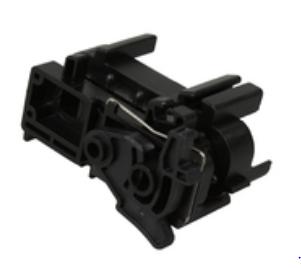 Oki Tractor frame assy (L) (332X) - Black (4PA4044-5043G002) - for MICROLINE ML3320, ML3390, ML3321, ML3