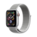 Apple Watch Series 4 reloj inteligente Plata OLED Móvil GPS (satélite)