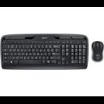 Logitech MK330 keyboard RF Wireless QWERTY English Black