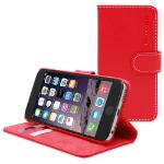 "TheSnugg B00NVMQ78S 5.5"" Folio Red mobile phone case"