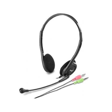 Genius HS-200C Binaural Head-band Black