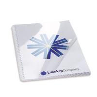 GBC HiClear Binding Covers A5 PVC 240 Micron Clear (100)