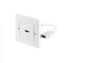 Microconnect HDMWALL1 socket-outlet HDMI White