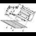 Zebra P1027728 pieza de repuesto de equipo de impresión Impresora de etiquetas