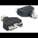 Trendnet USB & FireWire adapter for TC-NT2 Black