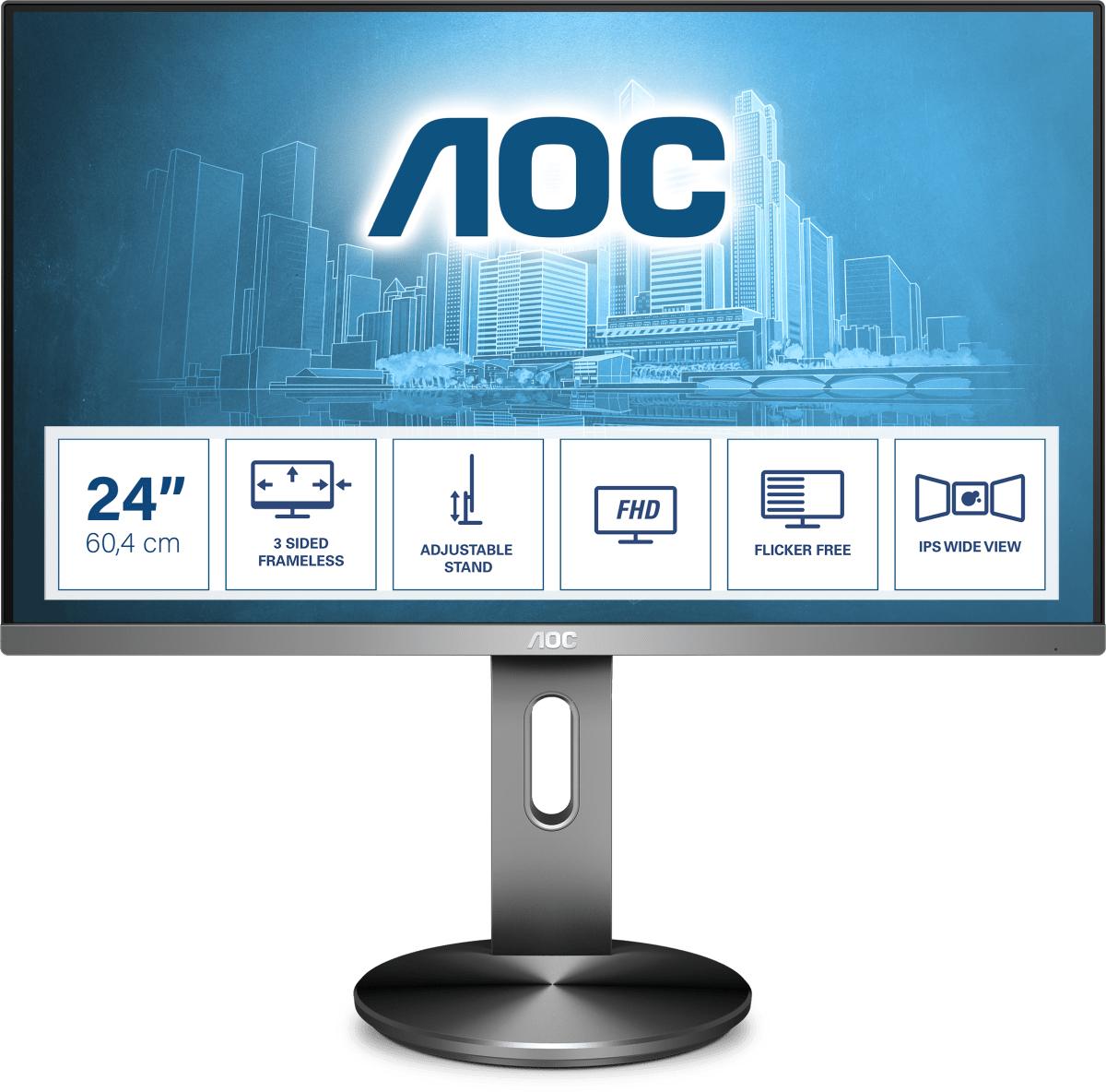 AOC 90 Series I2490PXQU/BT computer monitor 60.5 cm (23.8