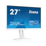 "iiyama ProLite B2791HSU-W1 LED display 68.6 cm (27"") 1920 x 1080 pixels Full HD Flat Matt White"