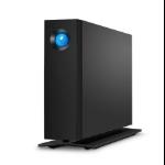 LaCie d2 Professional 10000GB Black external hard drive