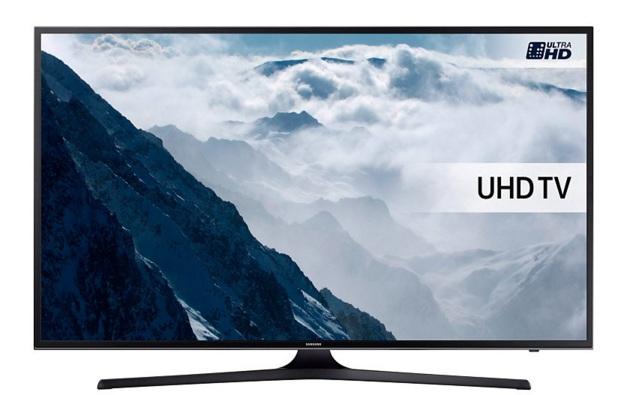 """Samsung UE60KU6000KXXU 65"""" 4K Ultra HD Smart TV Wi-Fi Black LCD TV"""