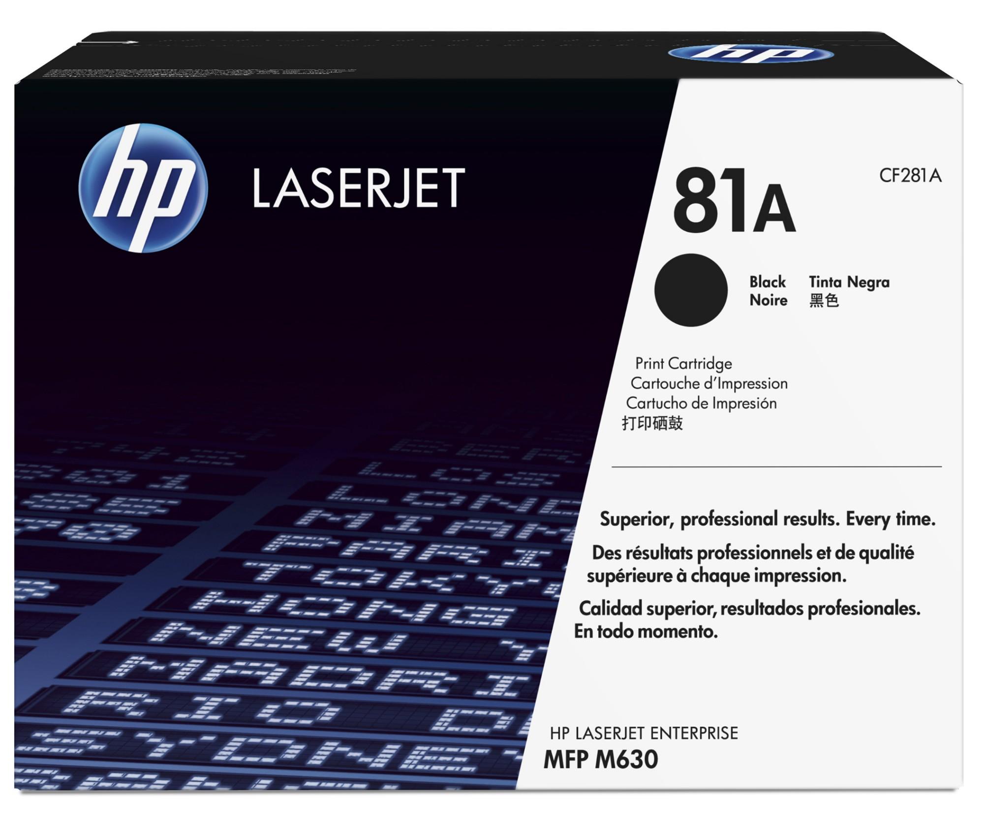HP 81A Origineel Zwart 1 stuk(s)