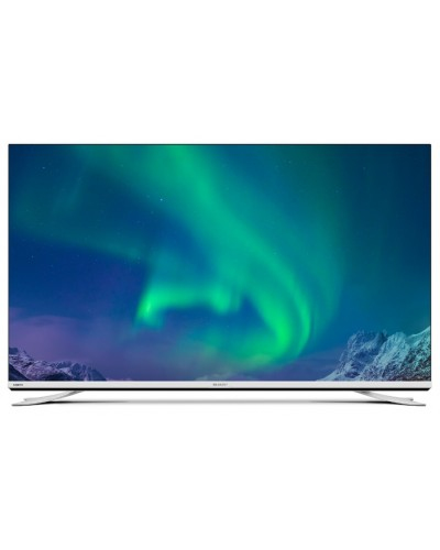 Led Tv With Freeview 65in 4k Uhd 3840 X 2160 Silver 4x Hdmi And 3x USB Vesa Wall Mount
