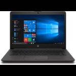 """HP 240 G7 DDR4-SDRAM Notebook 35.6 cm (14"""") 1920 x 1080 pixels 10th gen Intel® Core™ i5 8 GB 256 GB SSD Wi-Fi 5 (802.11ac) Windows 10 Home Black"""