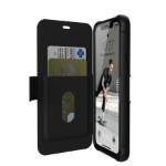 """Urban Armor Gear 111716114040 funda para teléfono móvil 15,5 cm (6.1"""") Libro Negro"""